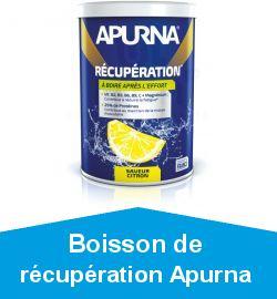 Boisson de récupération Apurna
