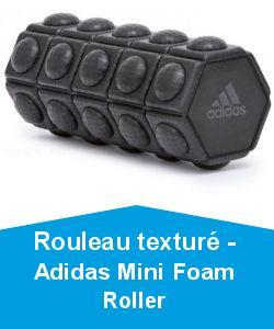 Rouleau texturé - Adidas Mini Foam Roller
